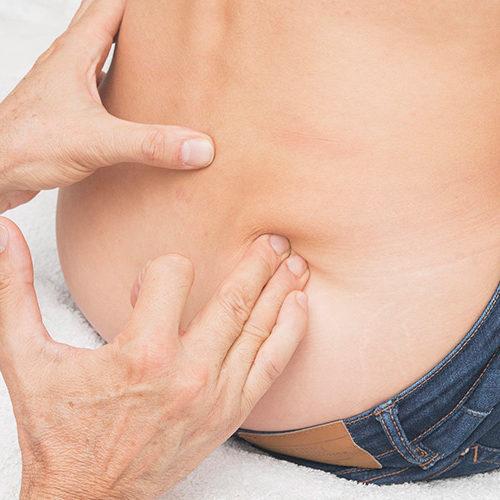lombaire bas massage